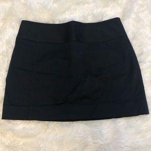 NWOT Express Black Skirt